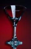 Empty martini glass Royalty Free Stock Photography