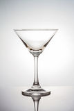 Empty martini glass with clipping path Stock Photography