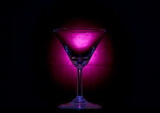 Empty martini glass. Stock Photography