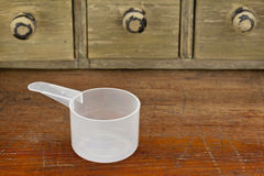 Empty measuring cup Royalty Free Stock Photo