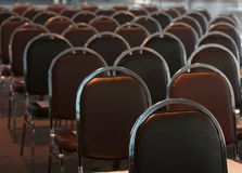 Empty meeting or conference room stock images