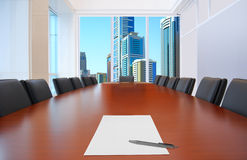 Empty meeting room Stock Photography