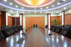 Empty meeting room Stock Image