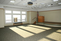 Empty Meeting Room Royalty Free Stock Image