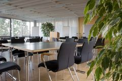 Empty Meeting Room Royalty Free Stock Images