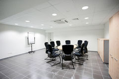 Empty meeting room Stock Photos