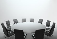 Empty meeting room and conference. An empty meeting room and conference table