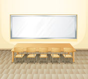 An empty meeting room Royalty Free Stock Images