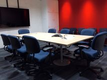 Empty Meeting Room Royalty Free Stock Photo