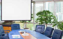 Empty meeting room Royalty Free Stock Photos