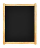 Empty menu board with wooden frame Royalty Free Stock Photos