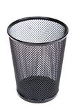 Empty Mesh Recycle Bin Royalty Free Stock Photos