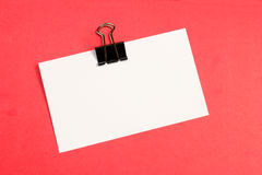 Empty message Stock Photography