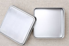 Empty metal box Royalty Free Stock Photo