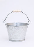 Empty metal bucket Stock Photography