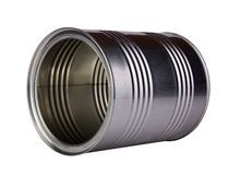Empty metal can. Stock Photography
