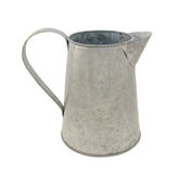 Empty metal jug Stock Photos