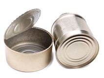 Metal can eight Stock Photography