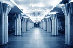 Empty metro station Stock Photos