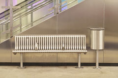 Empty metro station Royalty Free Stock Photos
