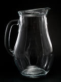 Empty Milk Jug Stock Photo