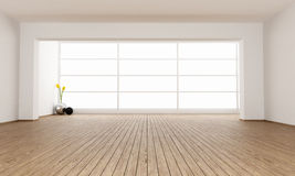 Empty minimalist room Royalty Free Stock Images