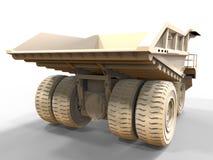 Empty mining truck illustration Stock Images