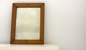 Empty mirror royalty free stock photography