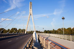 Empty Modern Bridge Stock Images