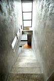 Empty modern building stairway Stock Photos