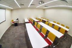 Empty modern classroom Stock Image