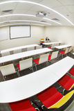 Empty modern classroom Stock Photo