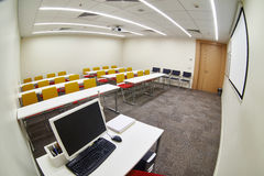 Empty modern classroom Royalty Free Stock Photos