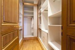 Empty modern closet room interior.  royalty free stock images