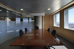 Empty modern conference room Stock Images