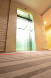 Empty modern elevator with open doors Royalty Free Stock Photography
