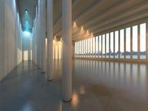 Empty modern hall Stock Photography