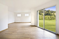 Empty modern house interior Royalty Free Stock Images