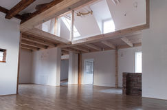 Empty modern interior Stock Photo
