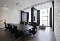 Empty Modern meeting room Stock Photo