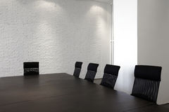 Empty Modern meeting room Royalty Free Stock Photos