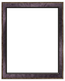 Empty modern photo frame stock photo