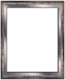 Empty modern photo frame Stock Photography