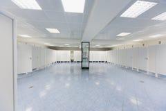 Empty modern public toilet Royalty Free Stock Photo