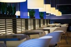Empty modern restaurant interior Royalty Free Stock Images