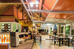 Empty modern restaurant Stock Photography