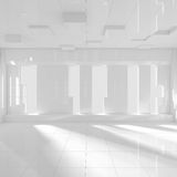 Empty Modern Room Royalty Free Stock Photos