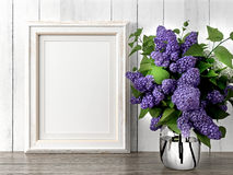 Free Empty Modern Style Frame, 3D Render Stock Images - 65583824