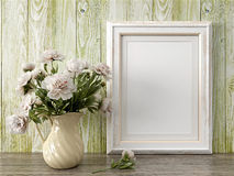 Free Empty Modern Style Frame, 3D Render Royalty Free Stock Photography - 65583877