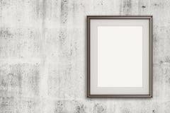 Empty modern style frame Royalty Free Stock Photography
